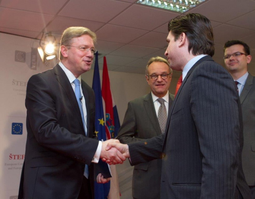 CEUBC with Commissioner Füle